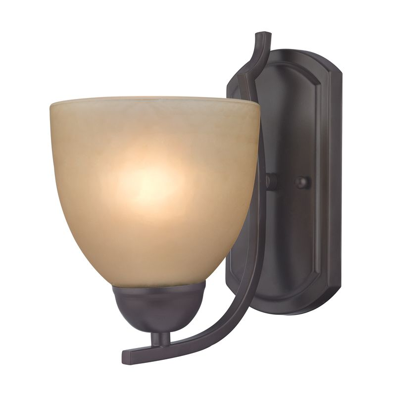 Cornerstone Lighting 1401WS Kingston 1 Light Bathroom Sconce with