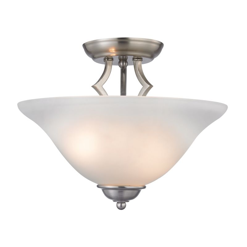 Cornerstone Lighting 1402SF Kingston 2 Light Semi-Flush Ceiling Sale $110.00 ITEM: bci2269603 ID#:1402SF/20 UPC: 830335022404 :