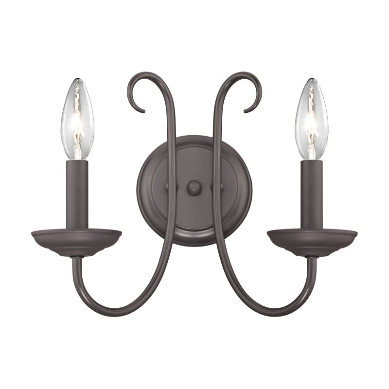 Cornerstone Lighting 1502WS Williamsport 2 Light Wall Sconce Oil Sale $78.00 ITEM: bci2673833 ID#:1502WS/10 UPC: 748119075310 :