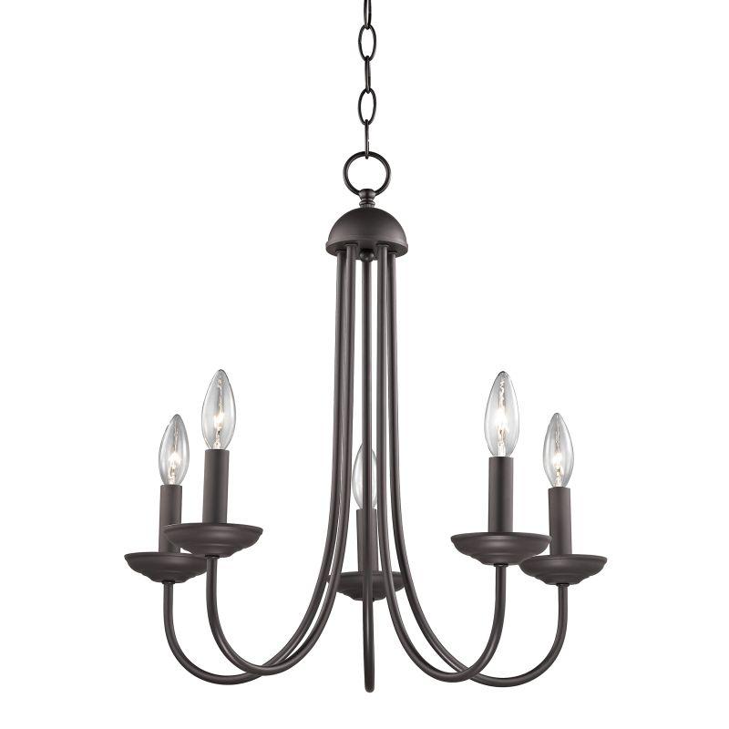 Cornerstone Lighting 1525CH Williamsport 5 Light 1 Tier Candle Style Sale $138.00 ITEM: bci2673841 ID#:1525CH/10 UPC: 748119075273 :