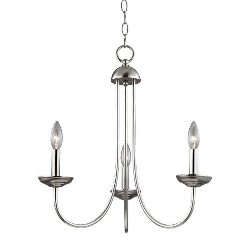 Cornerstone Lighting 1533CH Williamsport 3 Light 1 Tier Candle Style