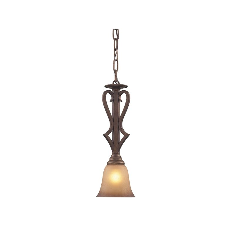 Cornerstone Lighting 1801PS Lawrenceville 1 Light Mini Pendant with