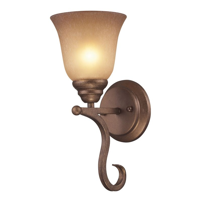 Cornerstone Lighting 1801WS Lawrenceville 1 Light Bathroom Sconce with