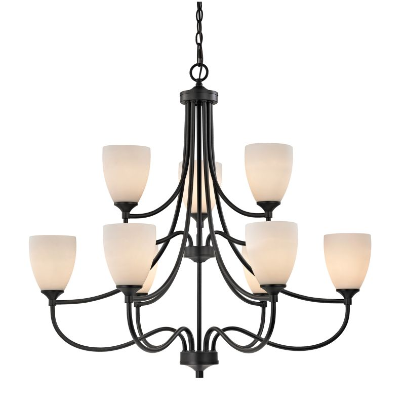 Cornerstone Lighting 2009CH Arlington 9 Light 2 Tier Shaded Chandelier Sale $558.00 ITEM: bci2673858 ID#:2009CH/10 UPC: 748119075440 :