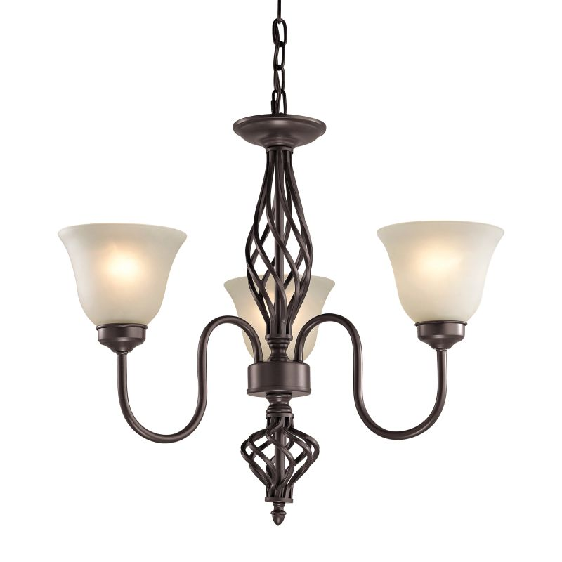 Cornerstone Lighting 2203CH Santa Fe 3 Light 1 Tier Shaded Chandelier Sale $238.00 ITEM: bci2673879 ID#:2203CH/10 UPC: 748119075631 :