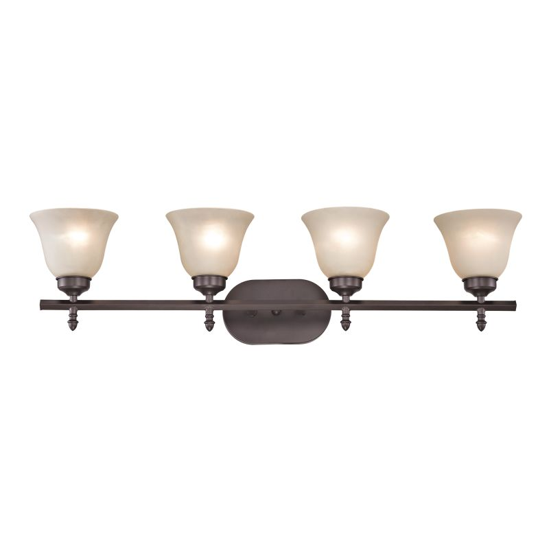 Cornerstone Lighting 2204BB Santa Fe 4 Light Vanity Light Oil Rubbed Sale $158.00 ITEM: bci2673883 ID#:2204BB/10 UPC: 748119075723 :