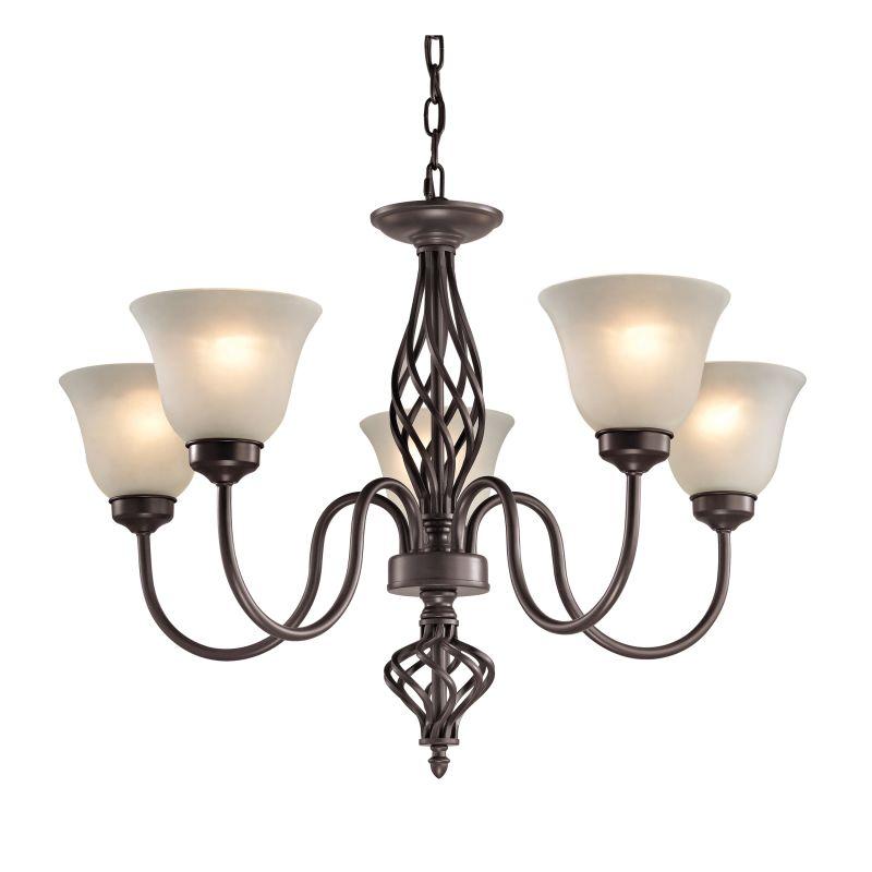 Cornerstone Lighting 2205CH Santa Fe 5 Light 1 Tier Shaded Chandelier Sale $338.00 ITEM: bci2673884 ID#:2205CH/10 UPC: 748119075624 :