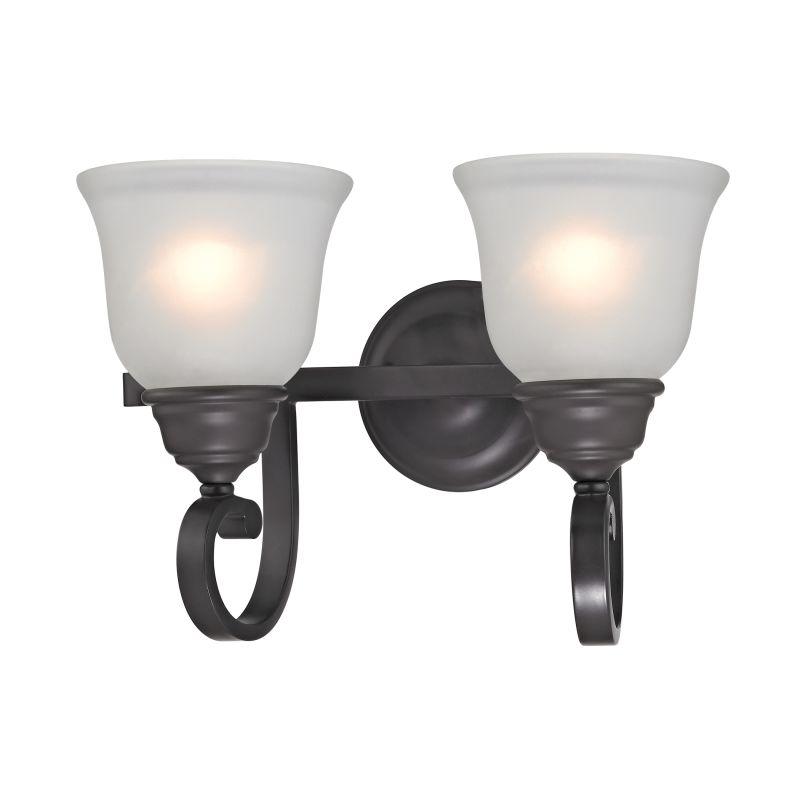 Cornerstone Lighting 2302BB Hamilton 2 Light Vanity Light Oil Rubbed Sale $118.00 ITEM: bci2673890 ID#:2302BB/10 UPC: 748119075730 :