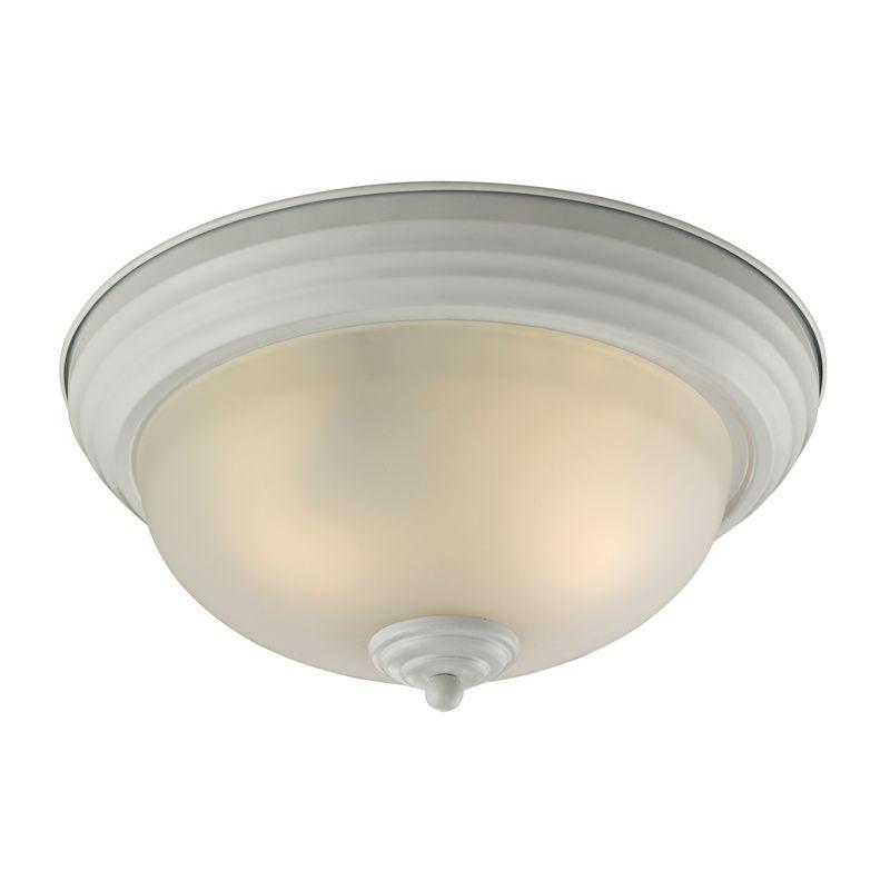 """Cornerstone Lighting 7103FM Easton 3 Light 13"""" Flush Mount Ceiling"""