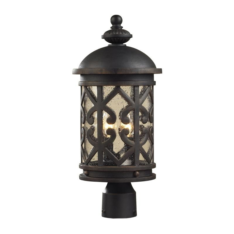 Cornerstone Lighting 7202EP Tuscany Coast 2 Light Outdoor Post Light Sale $274.00 ITEM: bci2673996 ID#:7202EP/71 UPC: 748119079189 :