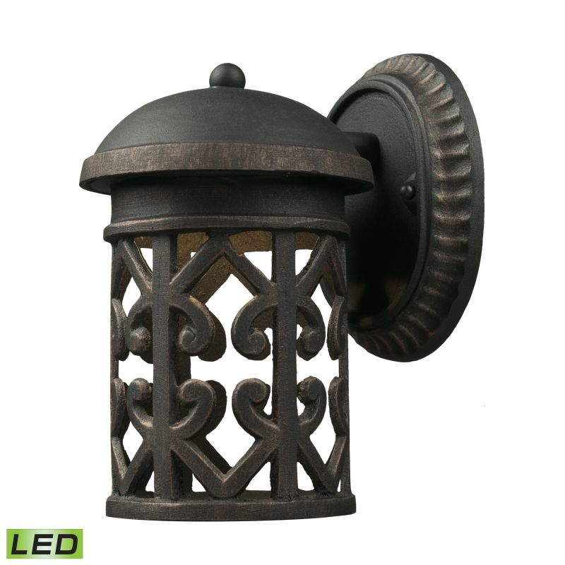 Cornerstone Lighting 7231EW/LED Tuscany Coast 1 Light LED Outdoor Wall