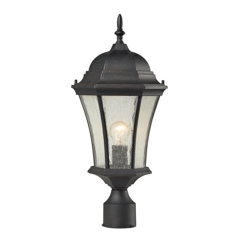 Cornerstone Lighting 7301EP Wellington Park 1 Light Outdoor Post Light Sale $160.00 ITEM: bci2674004 ID#:7301EP/71 UPC: 748119079264 :