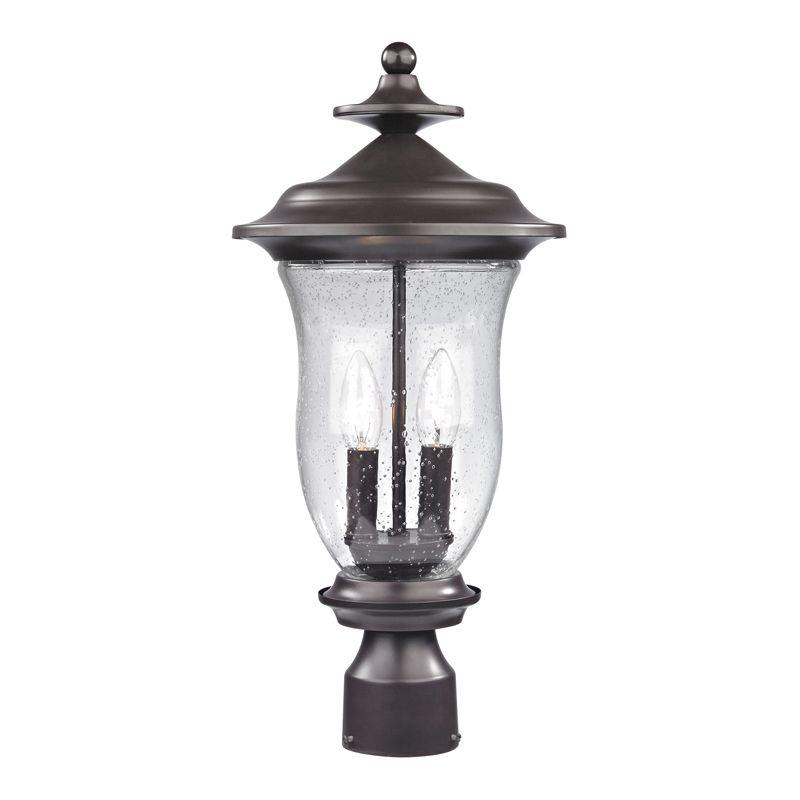 Cornerstone Lighting 8002EP Trinity 2 Light Outdoor Post Light with