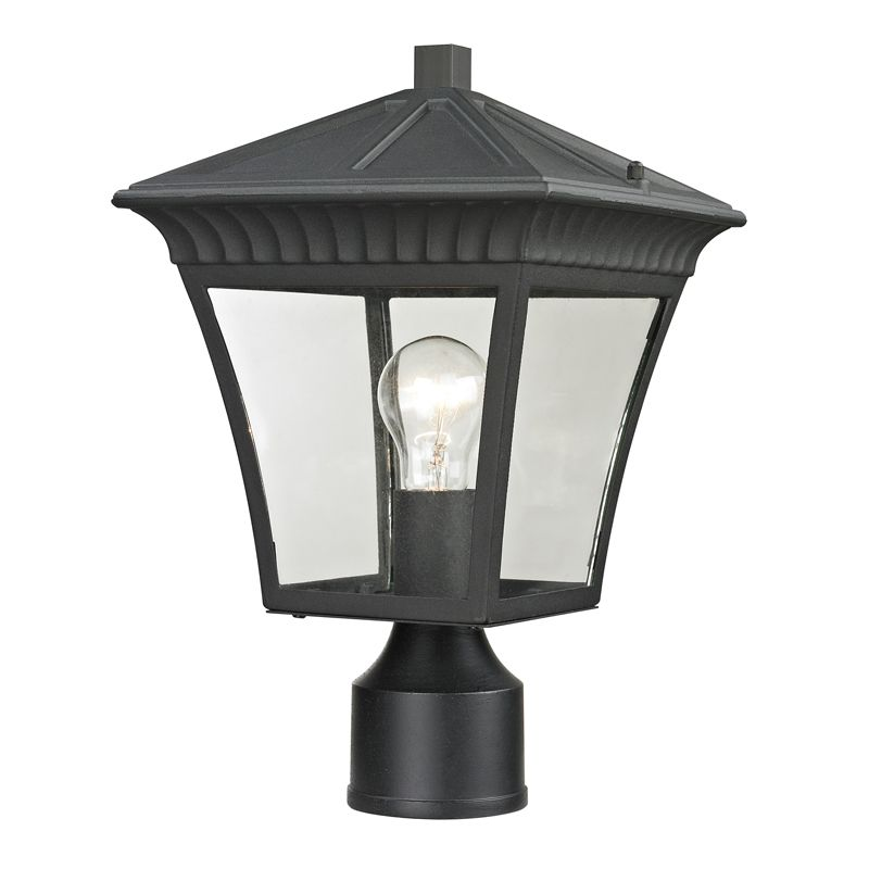 Cornerstone Lighting 8411EP Ridgewood 1 Light Outdoor Post Light with