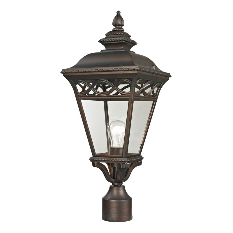 Cornerstone Lighting 8511EP Mendham 1 Light Outdoor Post Light with
