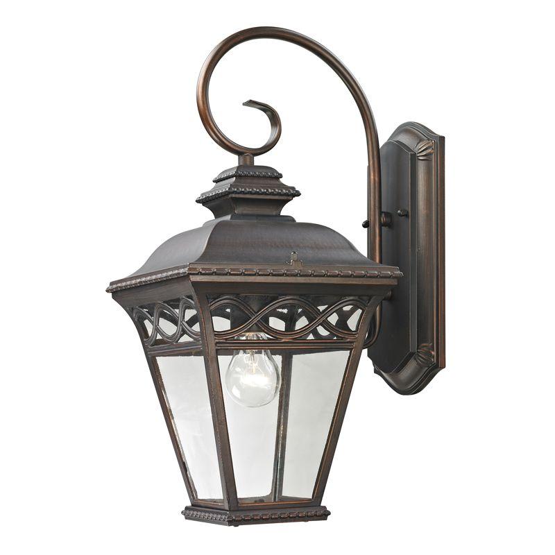 Cornerstone Lighting 8511EW Mendham 1 Light Outdoor Wall Sconce with