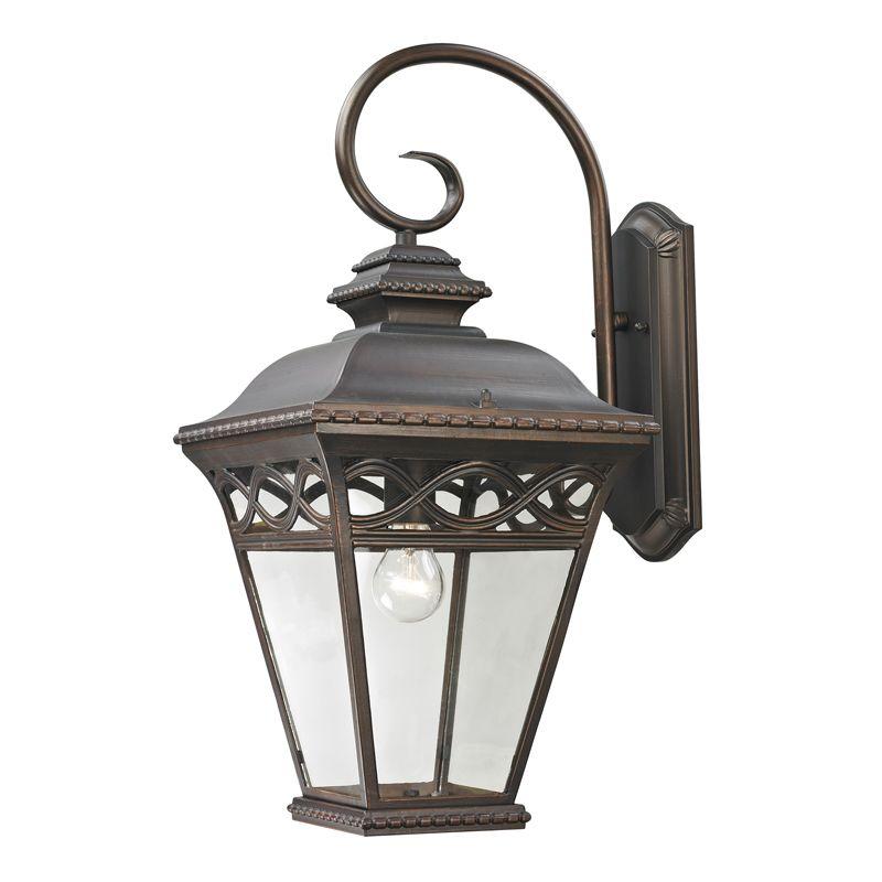 Cornerstone Lighting 8521EW Mendham 1 Light Outdoor Wall Sconce with