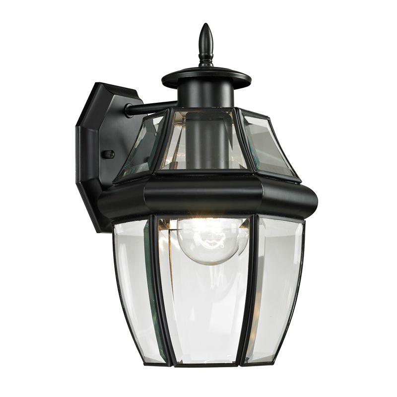 Cornerstone Lighting 8601EW Ashford 1 Light Outdoor Wall Sconce with