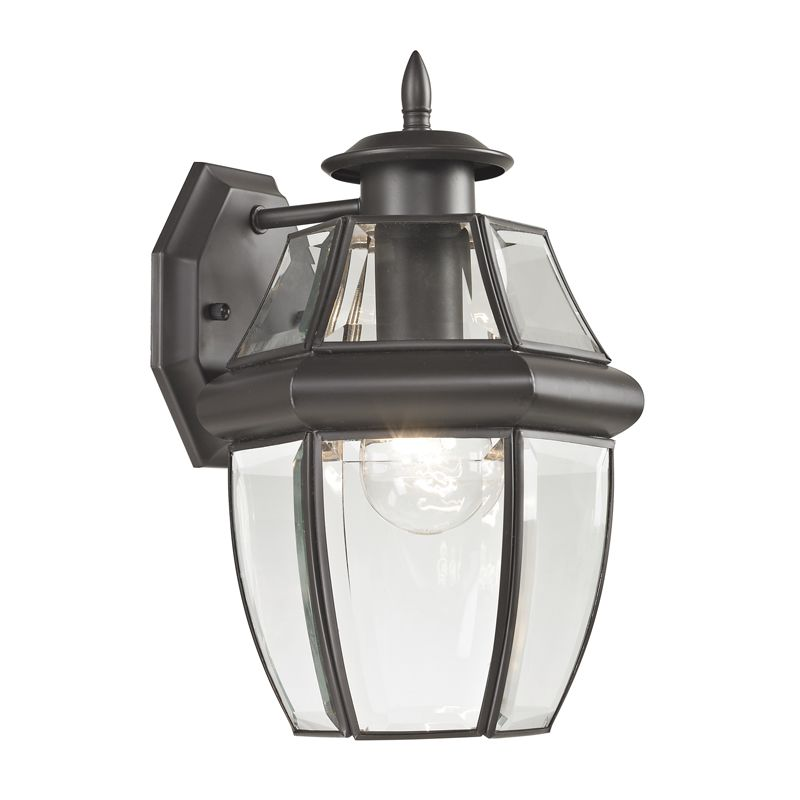 Cornerstone Lighting 8601EW Ashford 1 Light Outdoor Wall Sconce with