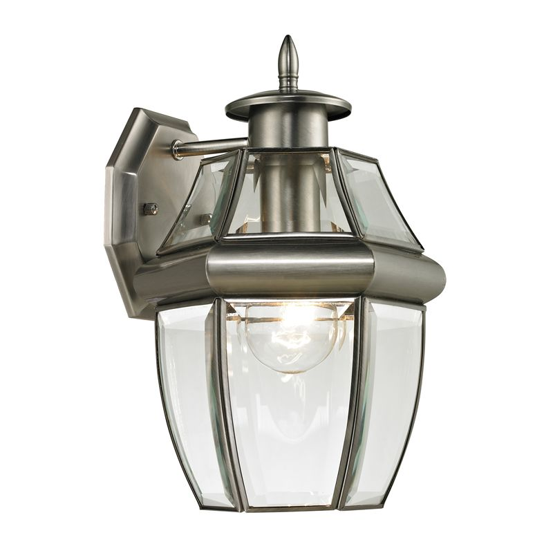 Cornerstone Lighting 8601EW Ashford 1 Light Outdoor Wall Sconce with Sale $82.00 ITEM: bci2269505 ID#:8601EW/80 UPC: 830335023685 :