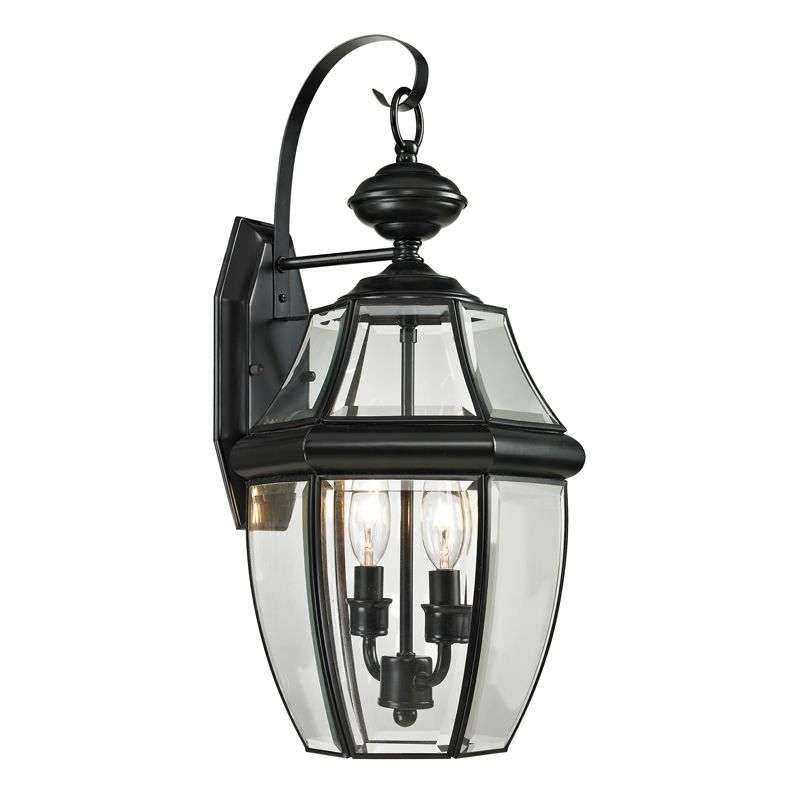 Cornerstone Lighting 8602EW Ashford 2 Light Outdoor Wall Sconce with