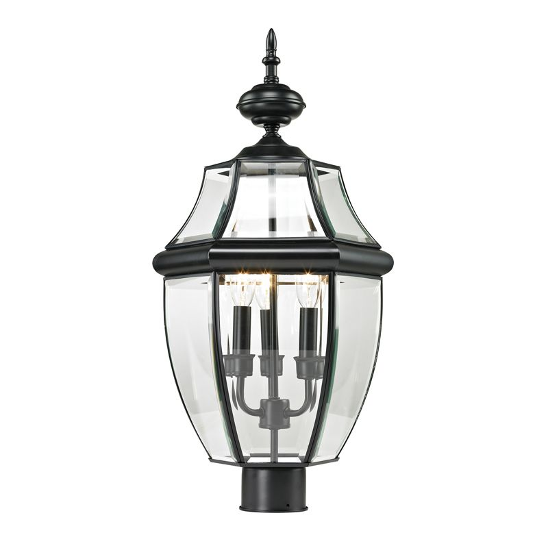 Cornerstone Lighting 8603EP Ashford 3 Light Outdoor Post Light with