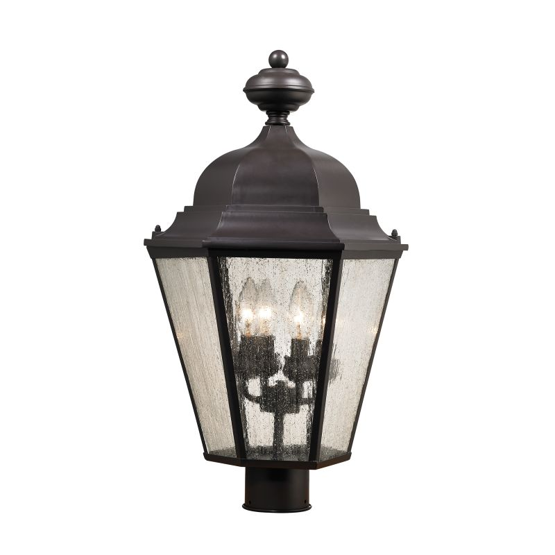 Cornerstone Lighting 8903EP Cotswold 4 Light Outdoor Post Light Oil Sale $198.00 ITEM: bci2674072 ID#:8903EP/75 UPC: 748119076515 :