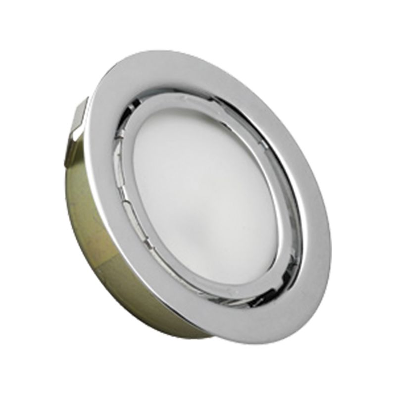 Cornerstone Lighting A710DL Aurora 1 Light Recessed Open Trim Chrome