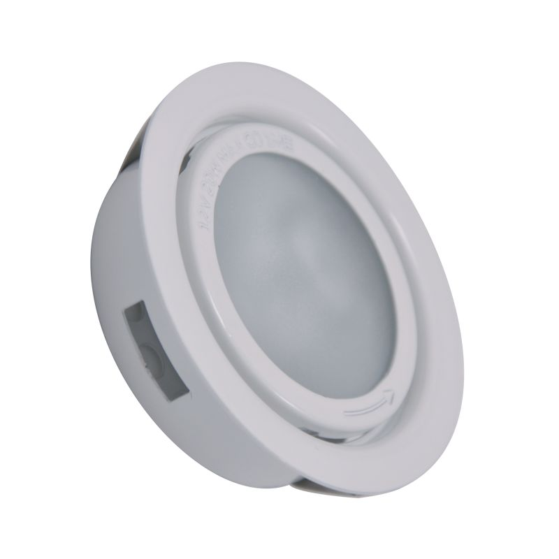 Cornerstone Lighting A710DL Aurora 1 Light Recessed Open Trim White
