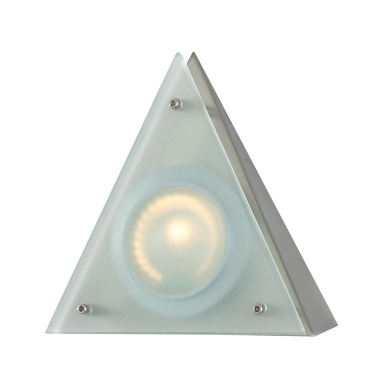 Cornerstone Lighting A722 Aurora 1 Light Wall Sconce Stainless Steel