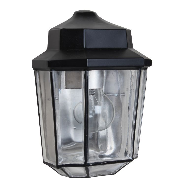 Costaluz 3028 1 Light Incandescent Outdoor Wall Sconce with Clear