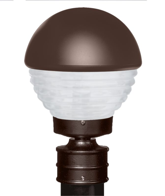 Costaluz 3061-POST-FR 1 Light Incandescent Post Light with Frosted