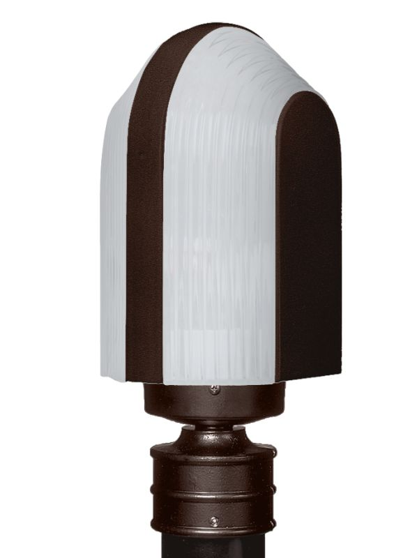 Costaluz 3139-POST-FR 1 Light Incandescent Post Light with Frosted