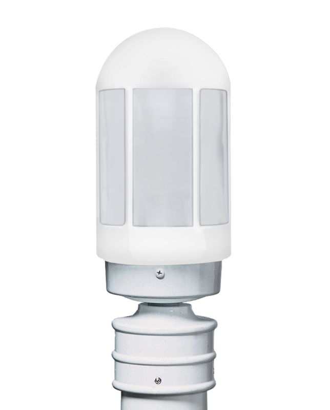 Costaluz 3151-POST-FR 1 Light Incandescent Post Light with Frosted