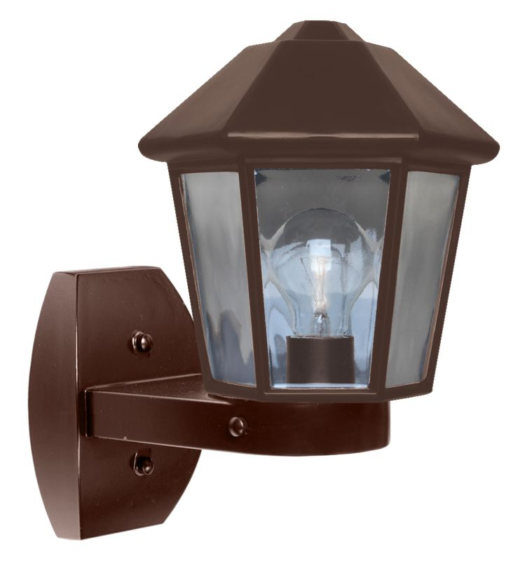 Costaluz 3272-WALL 1 Light Incandescent Outdoor Wall Sconce with Clear