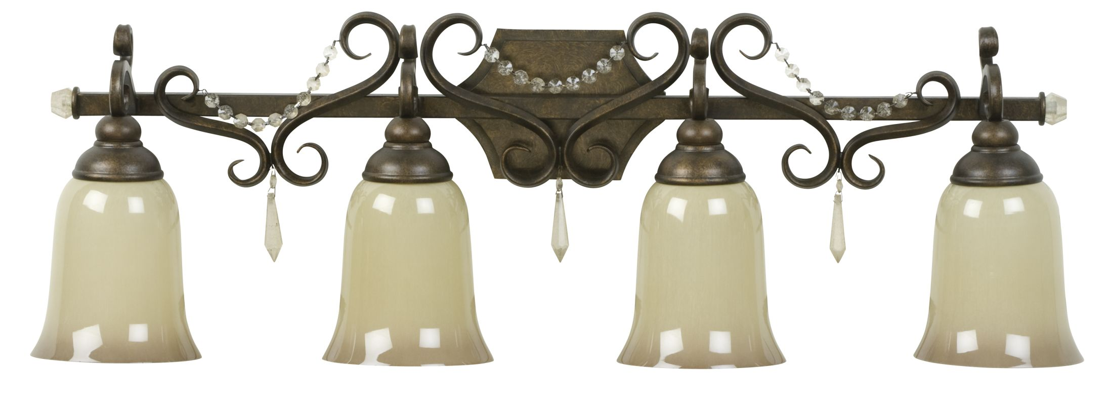 Craftmade 10833 Brasilia 4 Light Bathroom Vanity Light - 33 Inches
