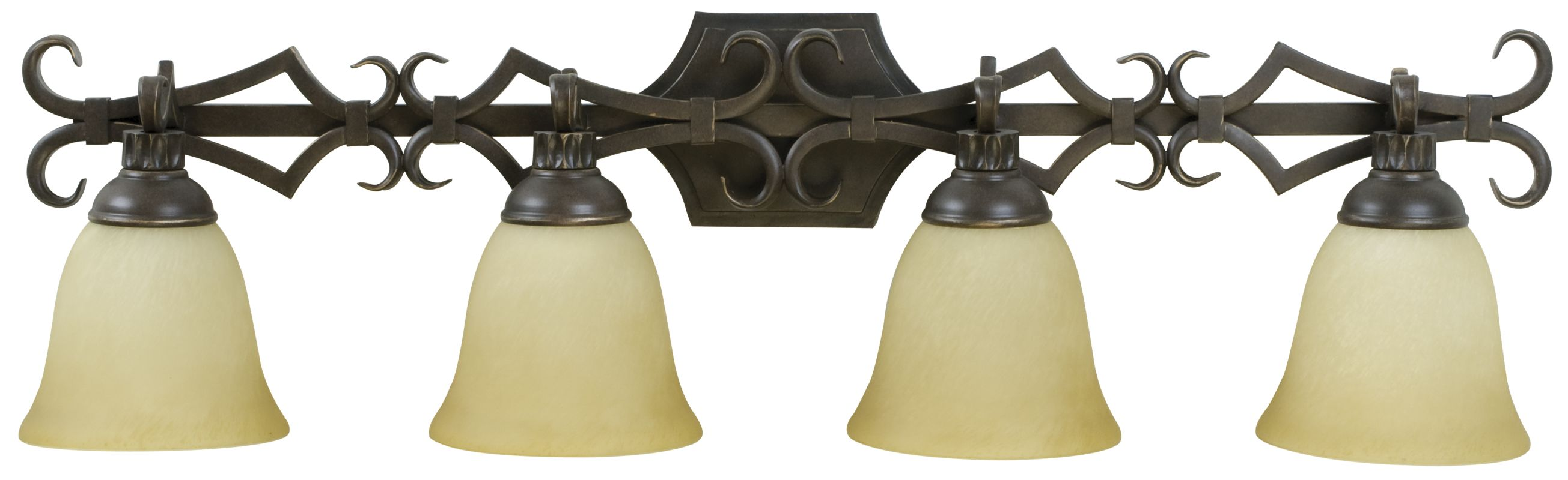 Craftmade 10935 Florence 4 Light Bathroom Vanity Light - 35 Inches