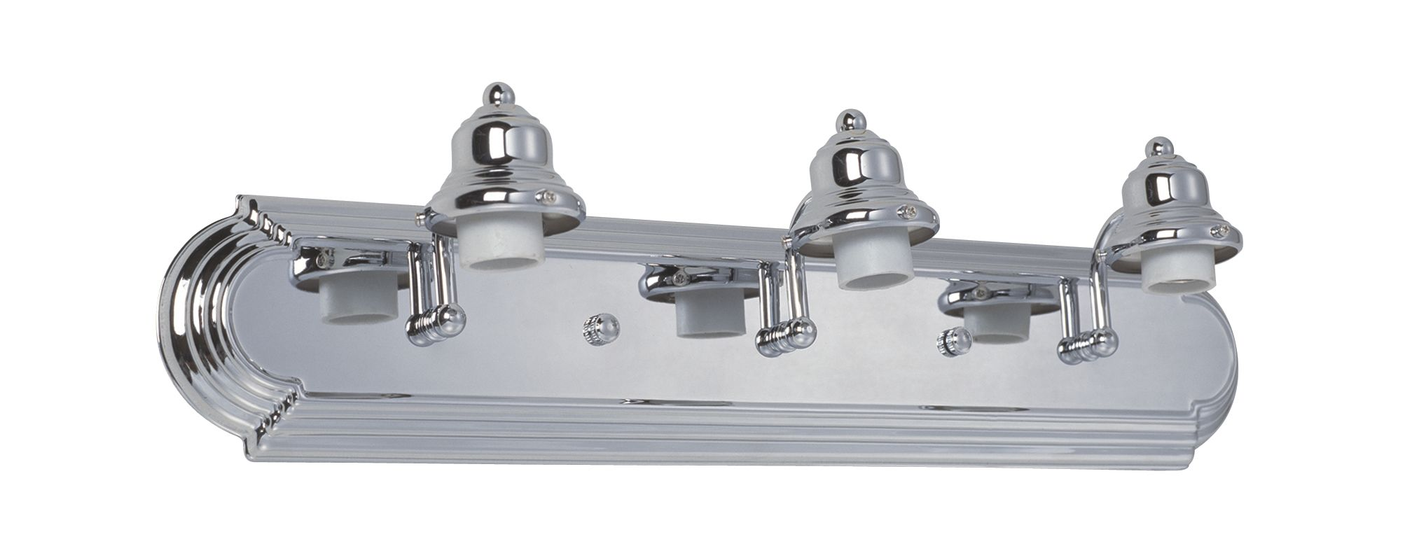 "Craftmade 11724-KIT Racetrack 24"" Wide 3 Light Bathroom Vanity Light"