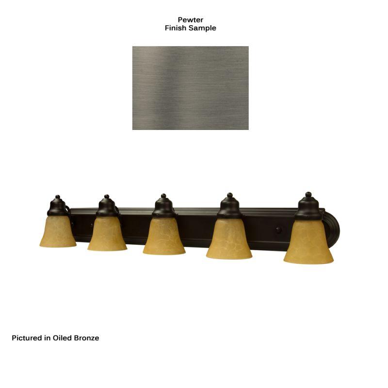 Craftmade 11736-5 Racetrack 5 Light Bathroom Vanity Light - 36 Inches