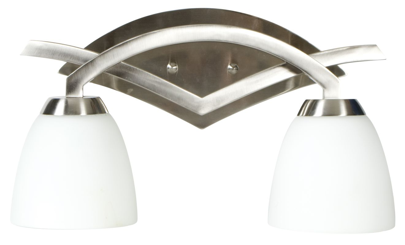 Craftmade 14016 Viewpoint 2 Light Bathroom Vanity Light - 16 Inches