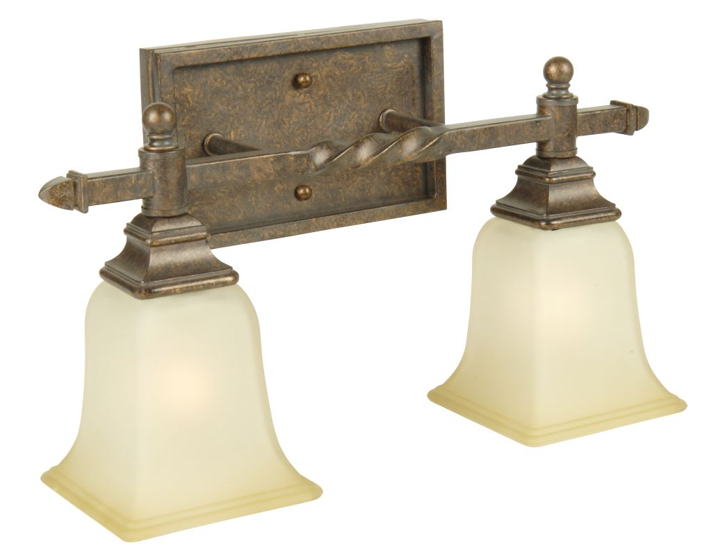 "Craftmade 15417 Ryan 17"" Wide 2 Light Bathroom Vanity Light Peruvian"