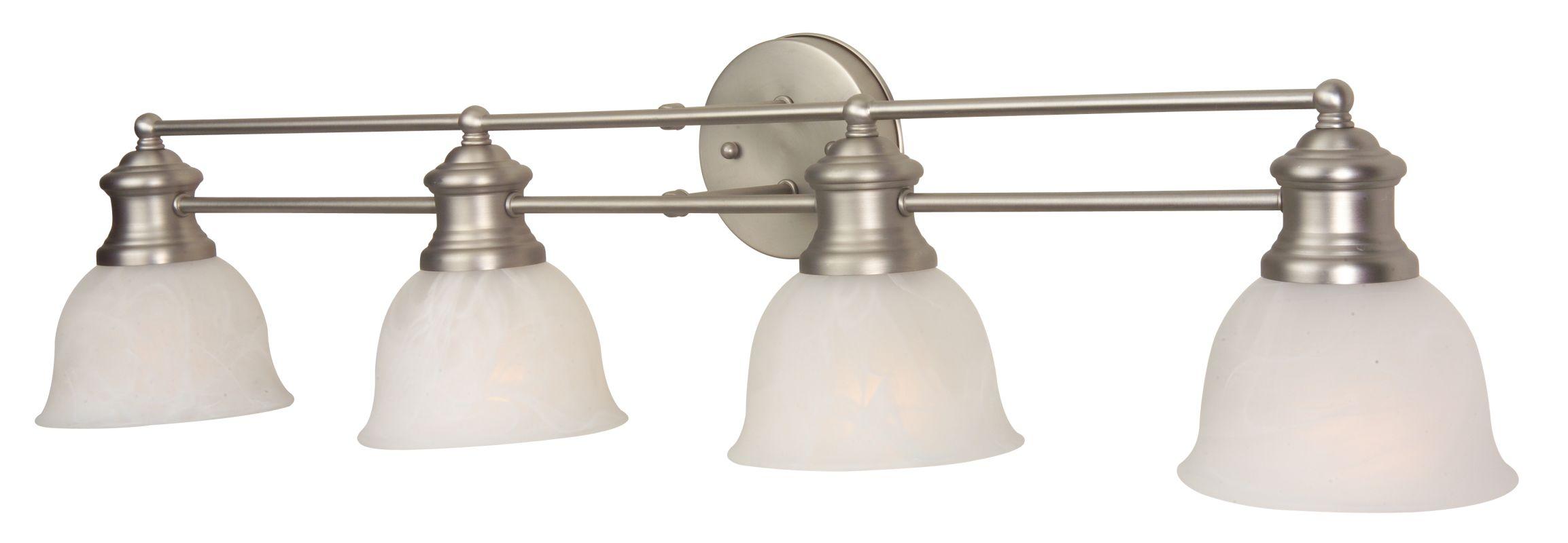"Craftmade 19832-4 Lite Rail 35"" Wide 4 Light Bathroom Vanity Light"