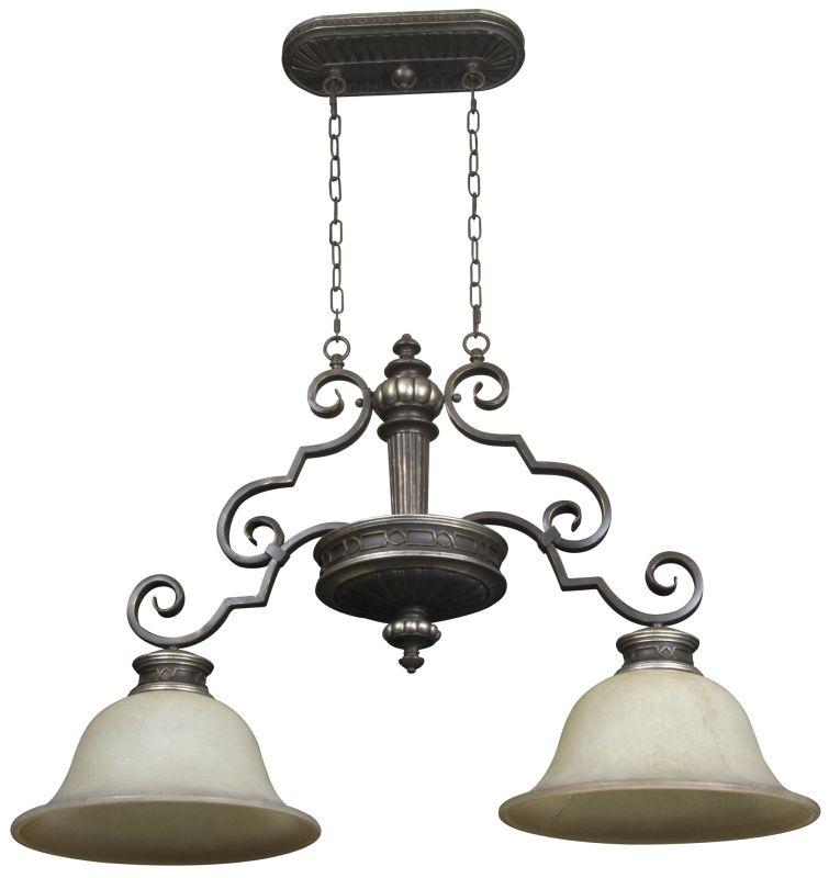 Craftmade 5137-2 Sutton Single Tier 2 Light Linear Chandelier - 36.75 Sale $324.90 ITEM: bci1668906 ID#:5137AGVM2 UPC: 647881099572 :