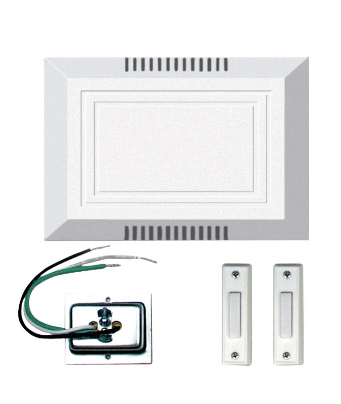 Craftmade C102L Builder ADA Compliant Door Chime Kit - Single Chime