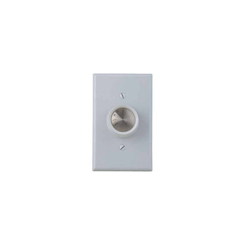 Craftmade CM-4SDH Four Speed Fan Wall Control White / Almond Knobs
