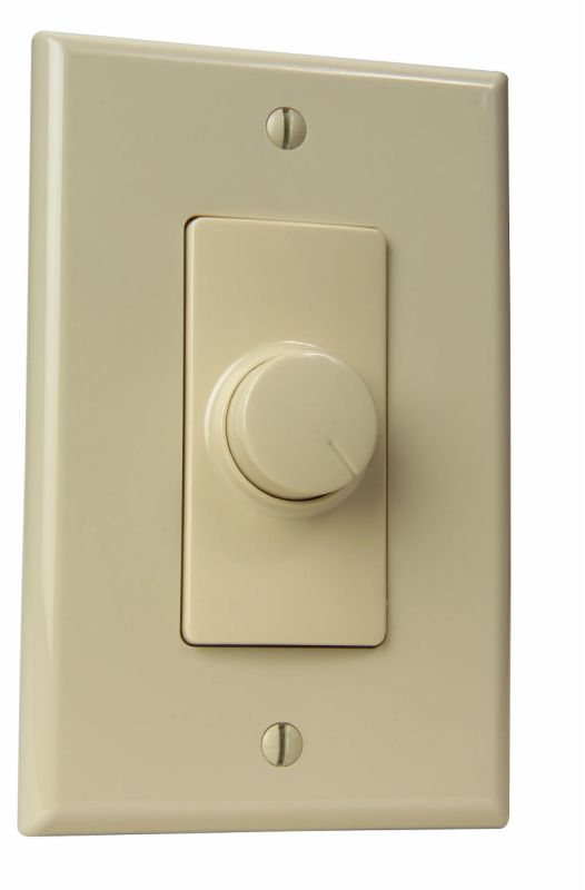 Craftmade CM-RTL Variable Wall Light Control with Turn Knob Almond