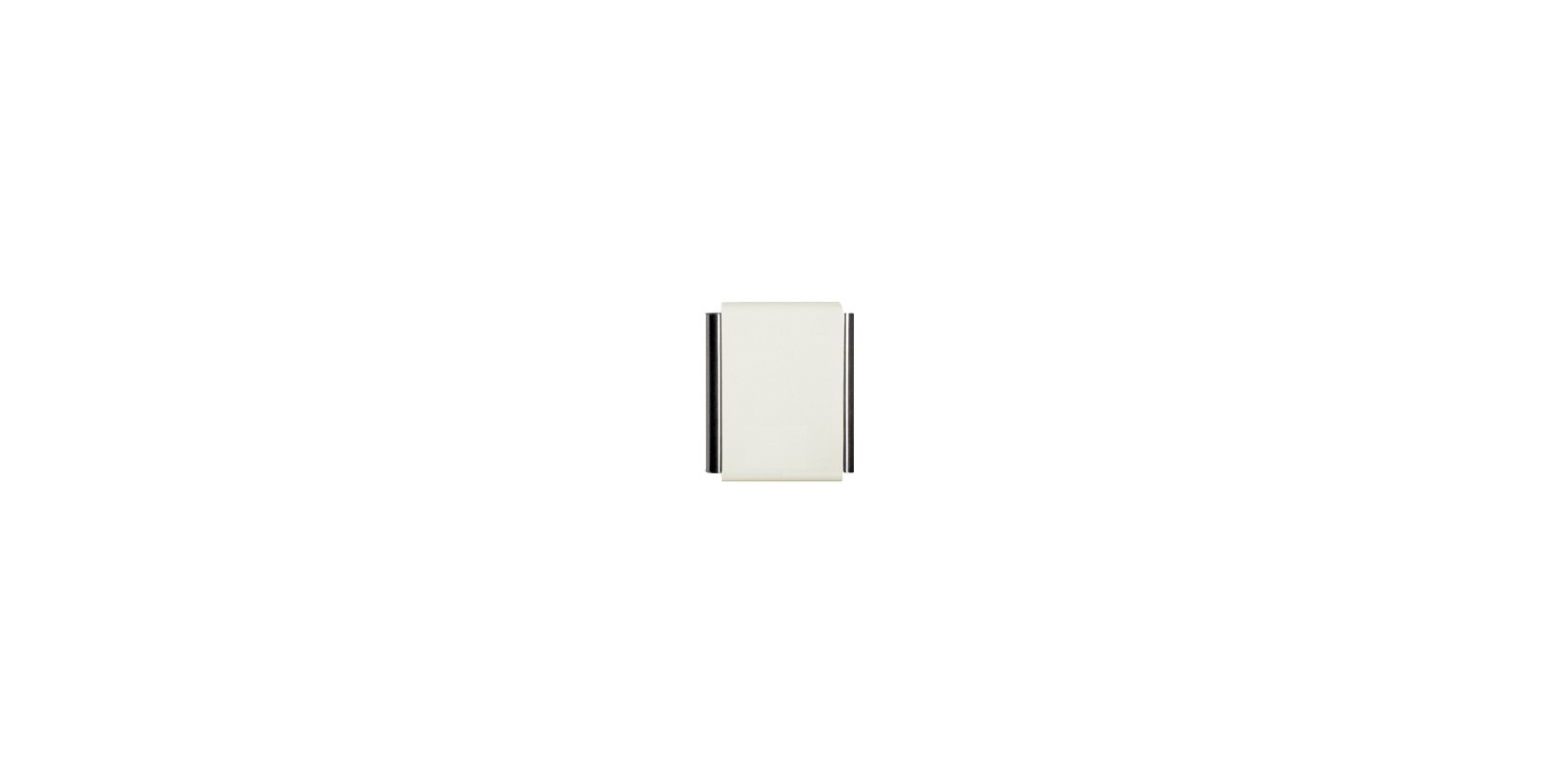 Craftmade CTPW 2 Note Door Bell Chime Designer White Door Chimes Sale $65.00 ITEM: bci1217149 ID#:CTPW-DW UPC: 647881076559 :