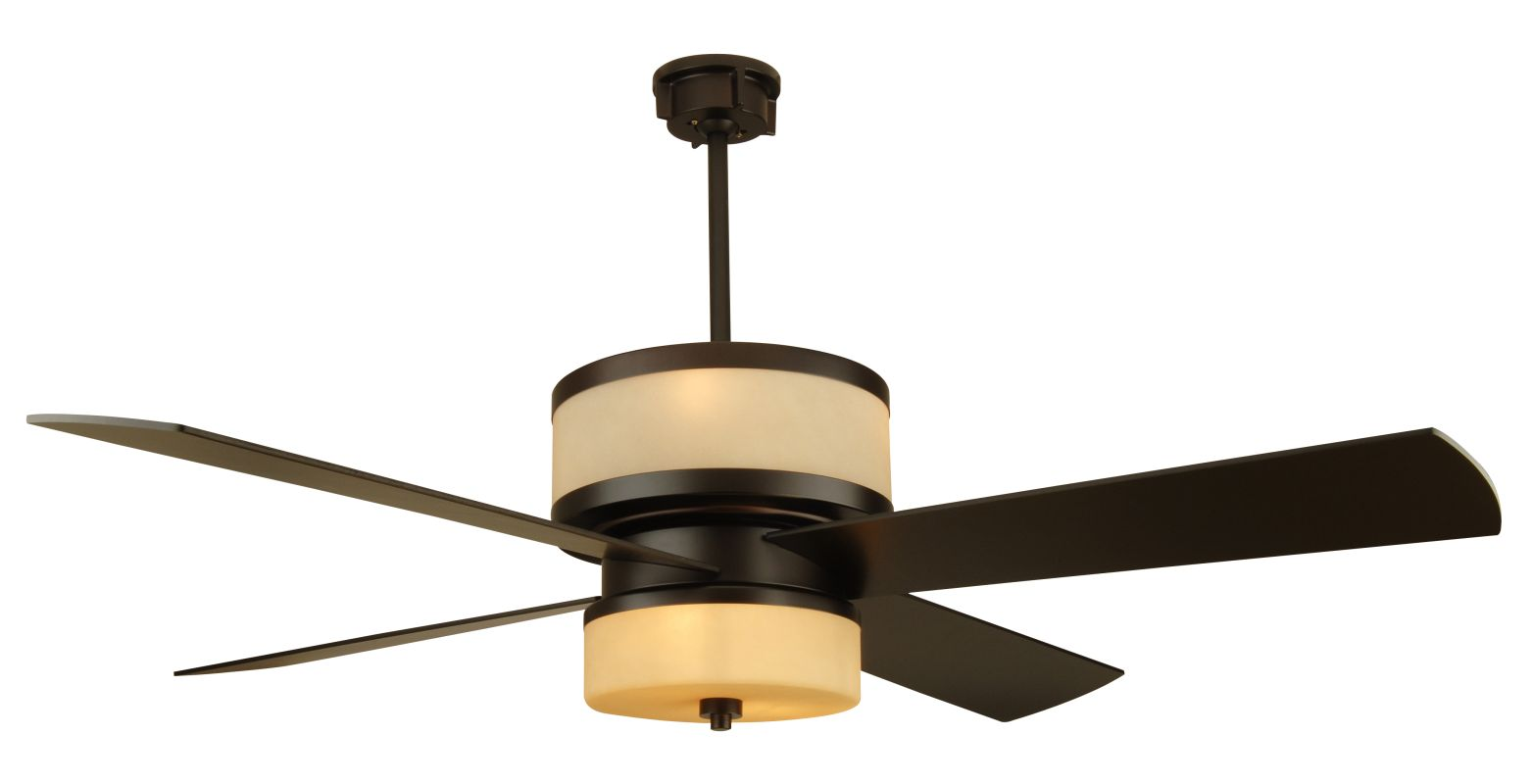 Craftmade Midoro Modern 56&quote 4 Blade Indoor Ceiling Fan - Blades and