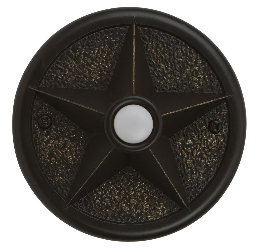 Craftmade PB3036 Surface Mount Star Pushbutton from the Designer Sale $27.50 ITEM: bci1403274 ID#:PB3036-AZ UPC: 647881044961 :