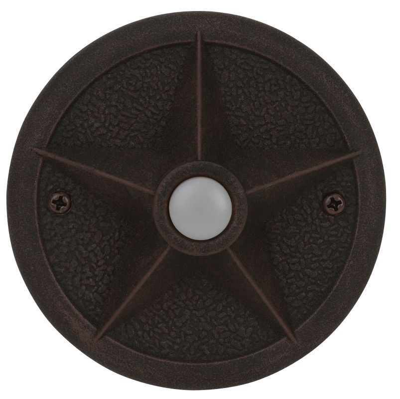 Craftmade PB3036 Surface Mount Star Pushbutton from the Designer Sale $27.50 ITEM: bci1403276 ID#:PB3036-RT UPC: 647881044978 :